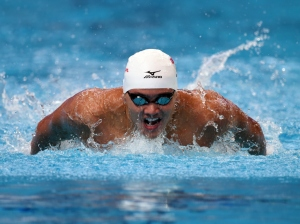 competes in the **** on day eleven of the 16th FINA World Championships at the Kazan Arena on August 4, 2015 in Kazan, Russia.